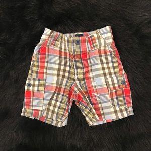 GAP Boys Plaid Toddler Shorts NWT